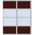 2 дв. ДСП+зеркало серебро +2280,00 р.