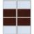 2 дв. Зеркало серебро+ДСП +2280,00 р.